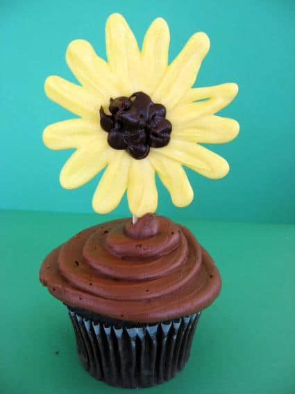 Candy Sunflower Cupcake Toppers Skip To My Lou