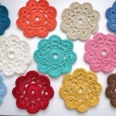 Crochet Flower doily
