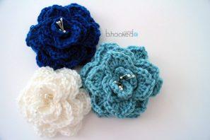 10 beautiful crochet flowers to make skip to my lou
