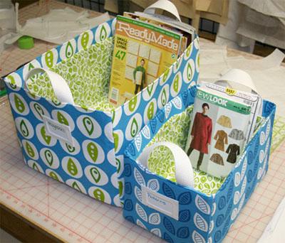 FABRIC STORAGE BOX SEWING PATTERN   My Sewing Patterns