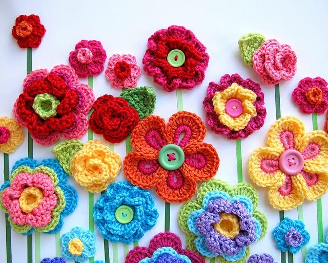 10 Beautiful Ways To Crochet A Flower Skip My Lou