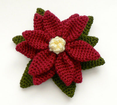 Attic24: Crochet Flower Brooch