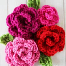 easy crochet rose