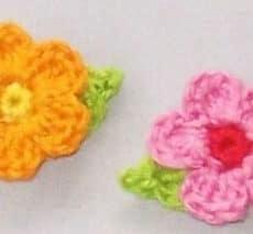 Sweet Little Crochet Flowers
