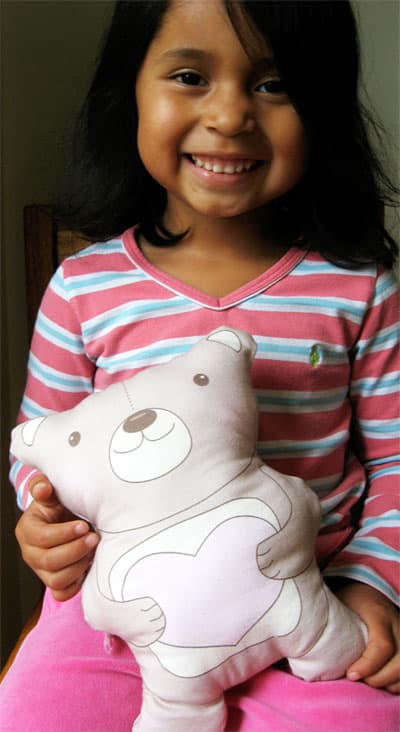 Simple Sewing Project For Kids Teddy Bear Sewing Pattern