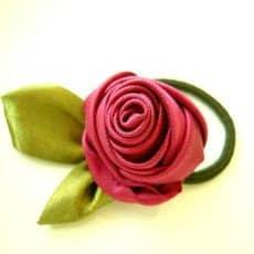 Vintage Fabric Rose Tutorial