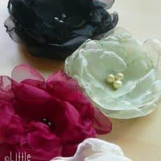 Organza Flower Tutorial