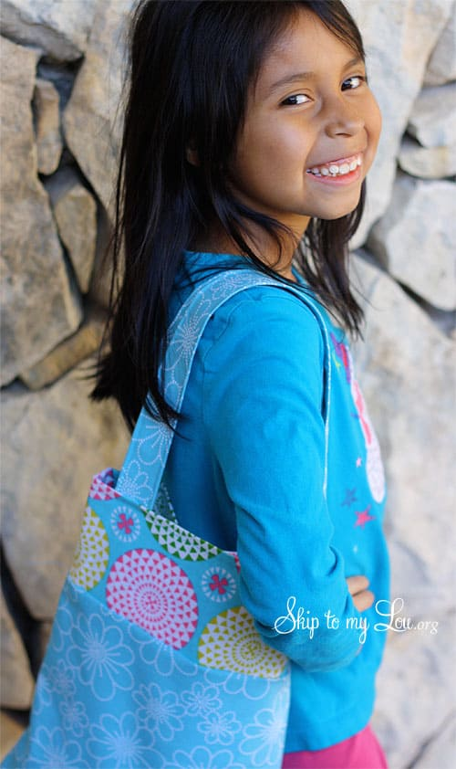 tote bag for kids to sew