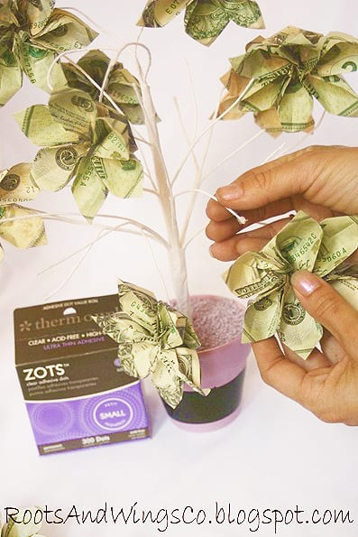 homemade money tree