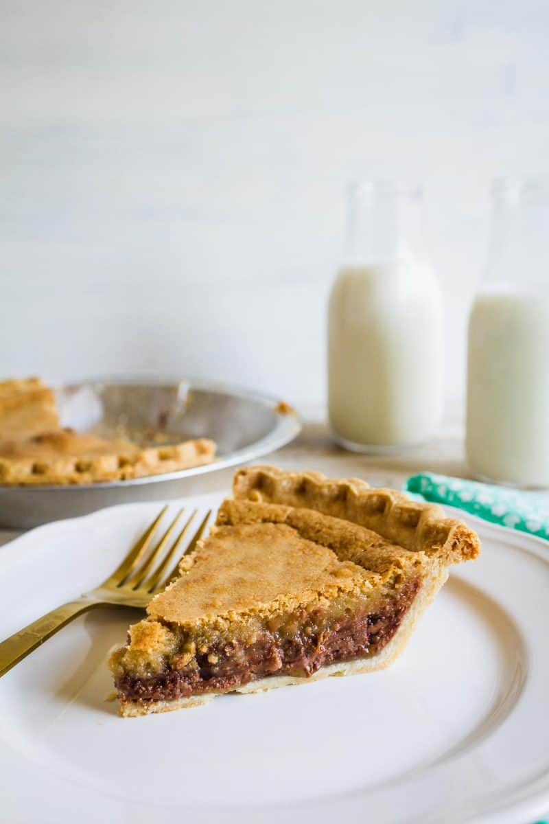 The Most Delicious Toll House Pie Ever