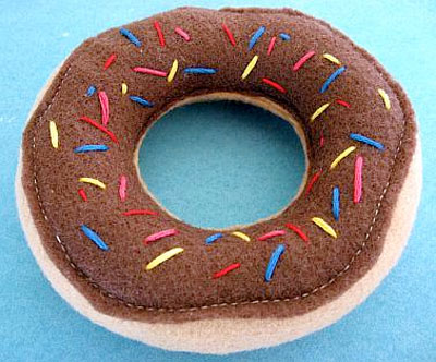 felt food donut