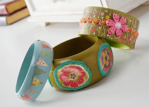 Homemade Bracelettes - Bangles Collection