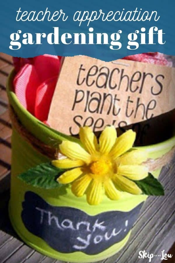 teacher gardening gift PIN