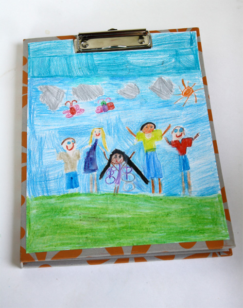 Father's Day Craft: Artwork Clipboard