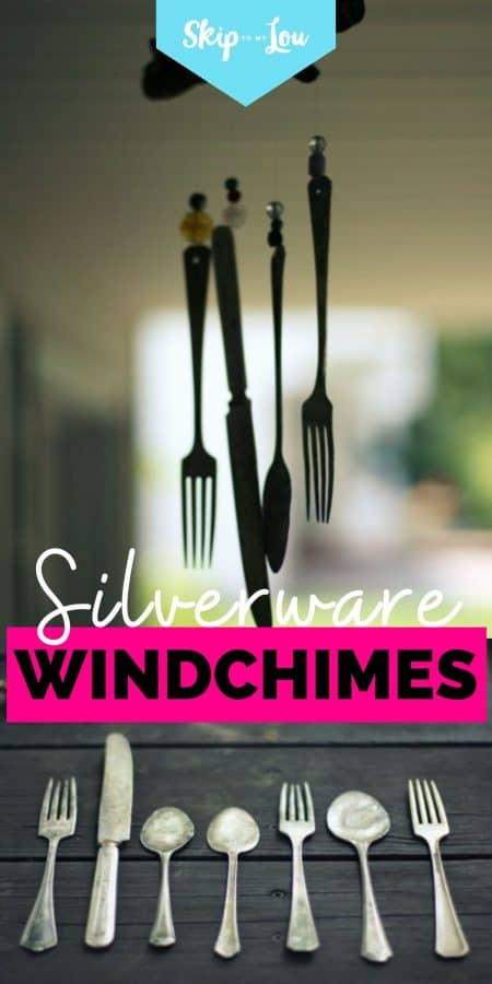 silverware windchimes PIN