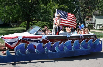 Fourth Of July Parade Float