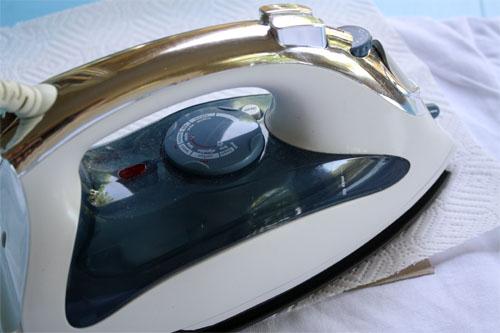 iron ironing sandpaper