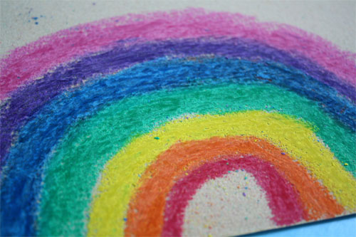 colored rainbow