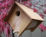 Wooden Bird House Plan