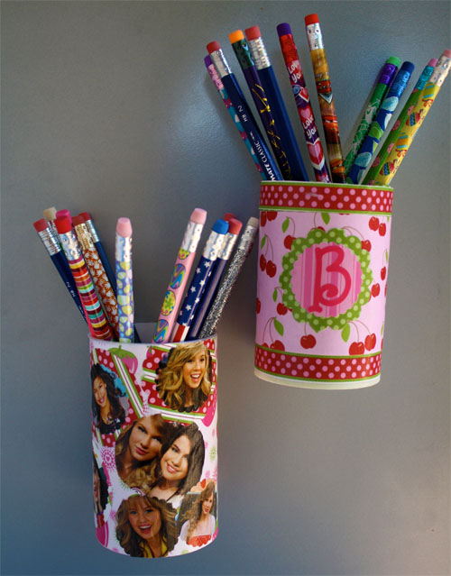 Back-to-School Craft Magnetic Pencil Holder | Alpha Mom