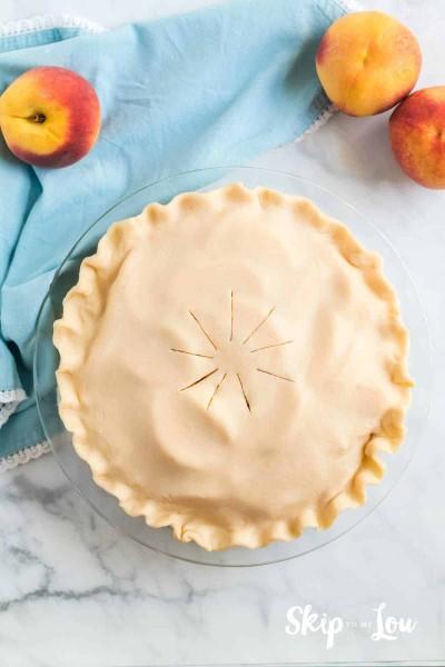 slits in pie crust
