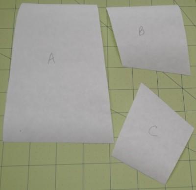 freezer paper templates