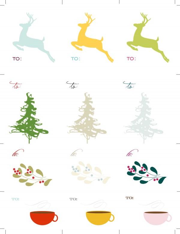 600 x 776 jpeg 44kB, Printable Free Secret Santa Gift Tags   New ...