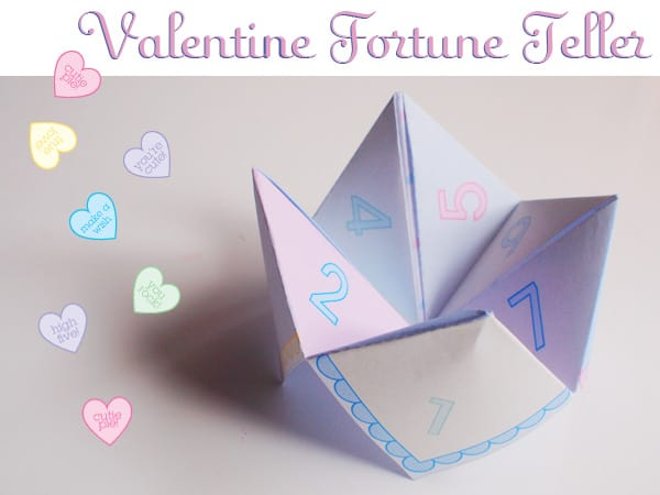 Printable Paper Cootie Catcher
