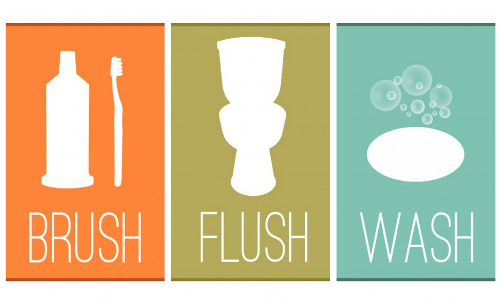 Household cleaning tips bathroom - Free Printables