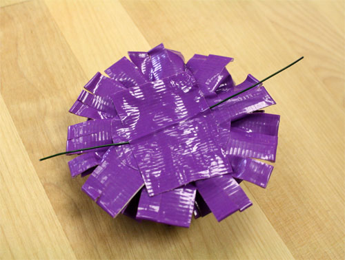 How To Make Duct Tape Flowers