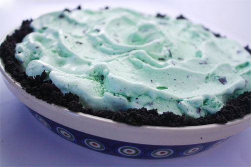 Ice Cream Pie With Oreo Cookie Crust Skip To My Lou