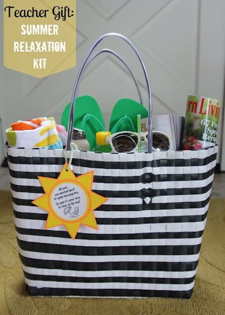 1aa92ec75a7 Fun in the sun  Summer Relaxation kit with free printable  Teacher  Appreciation