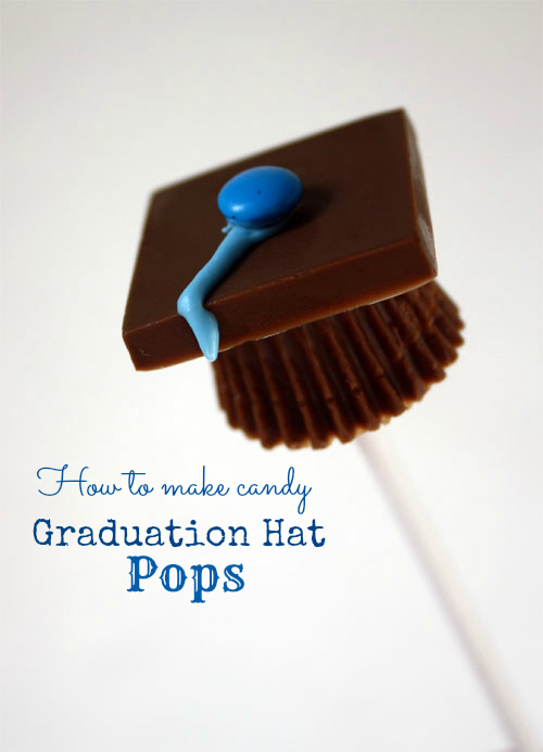 candy graduation cap tutorial