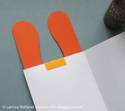 card glued together