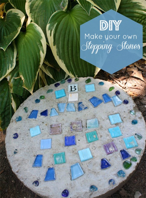 Rogers Garden Stone Concrete stepping stone tutorial grab workwithnaturefo