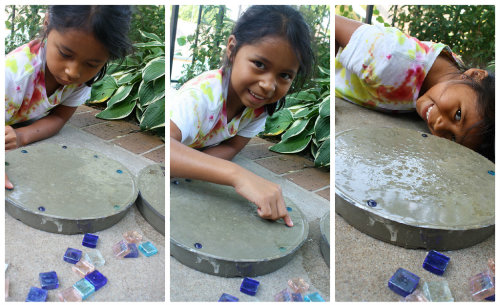 Garden Stepping Stones Lowes Concrete stepping stone tutorial dont workwithnaturefo