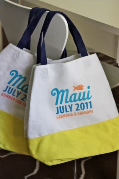 Personalized Beach Bag {Craft Camp} | Skip To My Lou