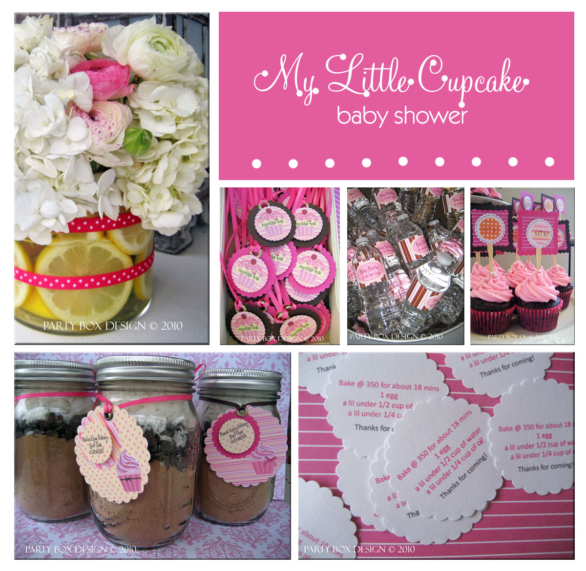 Five fabulous baby shower ideas and themes skip to my lou for Baby girl shower decoration