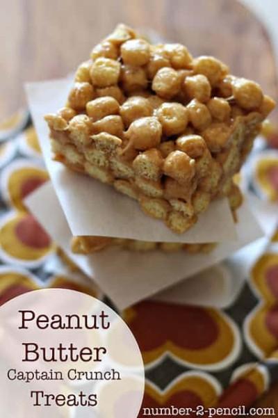 Peanut Butter Crunch Treats