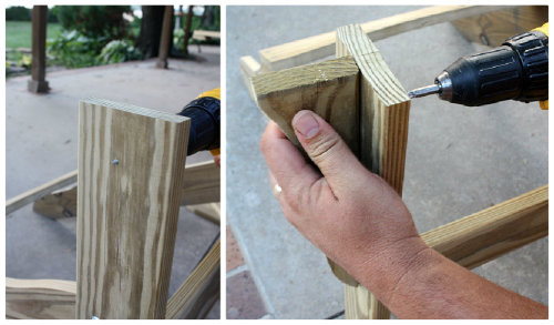 adirondack chairs diy