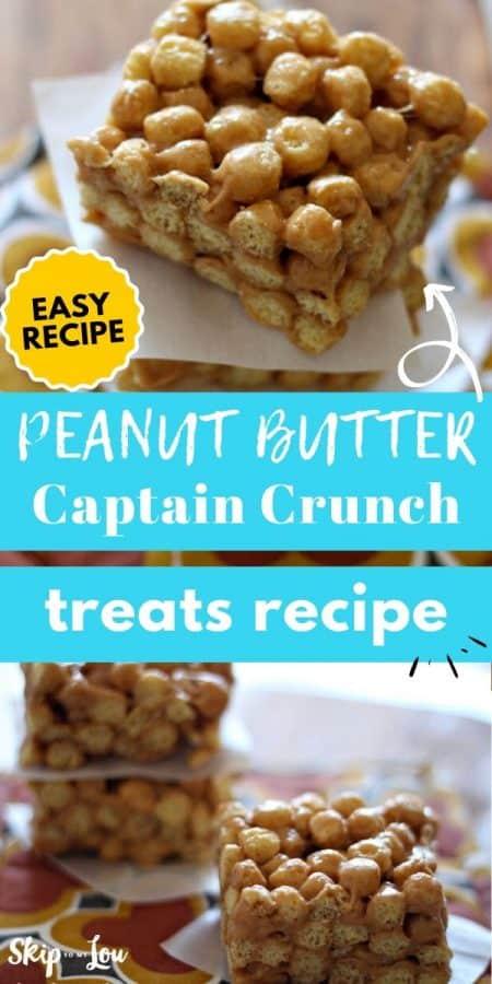 peanut butter captain crunch treats PIN