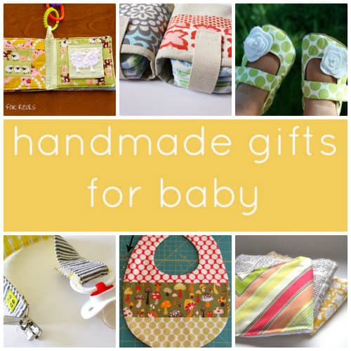 Gifts to make for baby Skip To