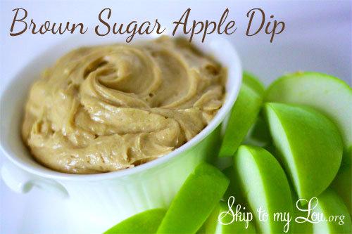 Brown Sugar Apple Dip Recipe