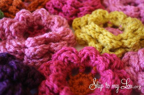 Crochet Big Flower Pattern Free ~ Dancox for .