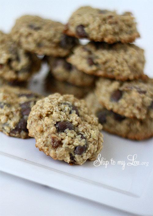 low-fat oatmeal raisin cookies