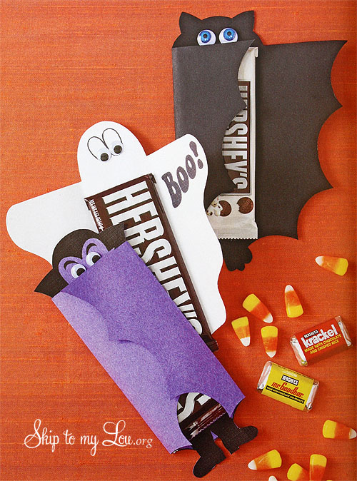 Halloween Candy Bar Cover