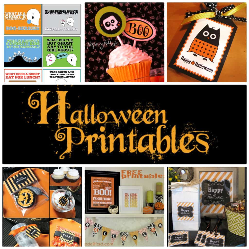 All The Best Halloween Printables Over 40 Freebies Skip To My Lou