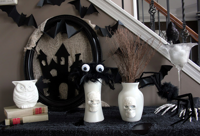Homemade Halloween decorations for the home