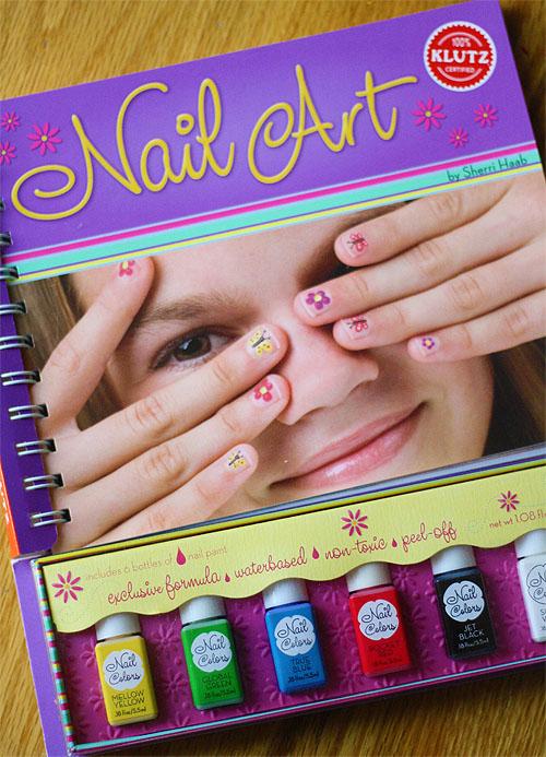 Klutz Nail Art Book - kitharingtonweb