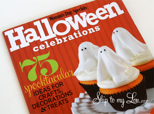 womans day halloween magazing 75 anniversary